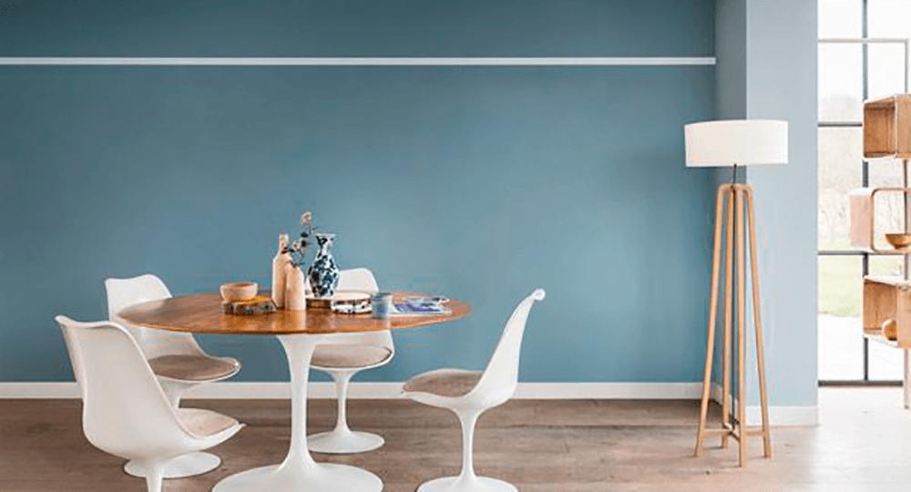 Azul e a influência das cores na decoração.